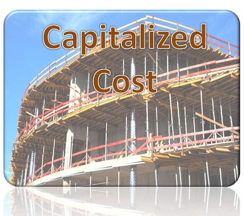 capitalized cost