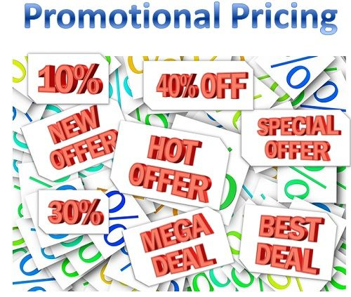 what is promotional pricing definition and meaning business jargons