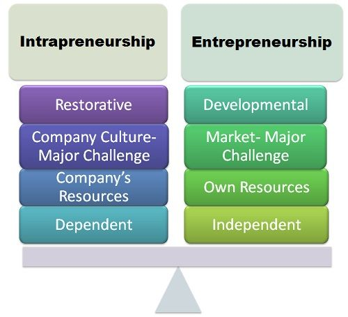 What Is Intrapreneurship Definition And Meaning