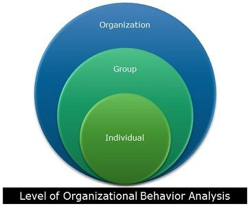 Levels of Organizational Behavior Analysis